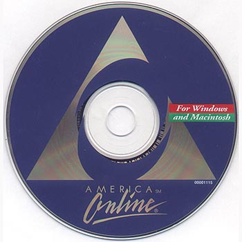 AOL compact disc